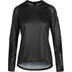 ASSOS Trail Koszulka rowerowa z długim rękawem Kobiety, czarny